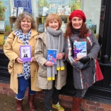 Valentine's 2014, author showcase at Waterstones Market Harborough
