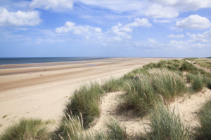 sand dunes holkham beach north norfolk uk
