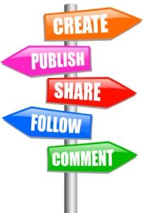 social media signpost 300