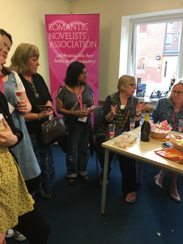 Elly Reading, Alison May, Jackie Ladbury, Rhod Baxter, Clare Flynn