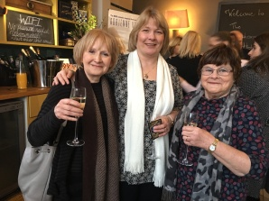 June Kearns, Jan Brigden and Mags Cullingford